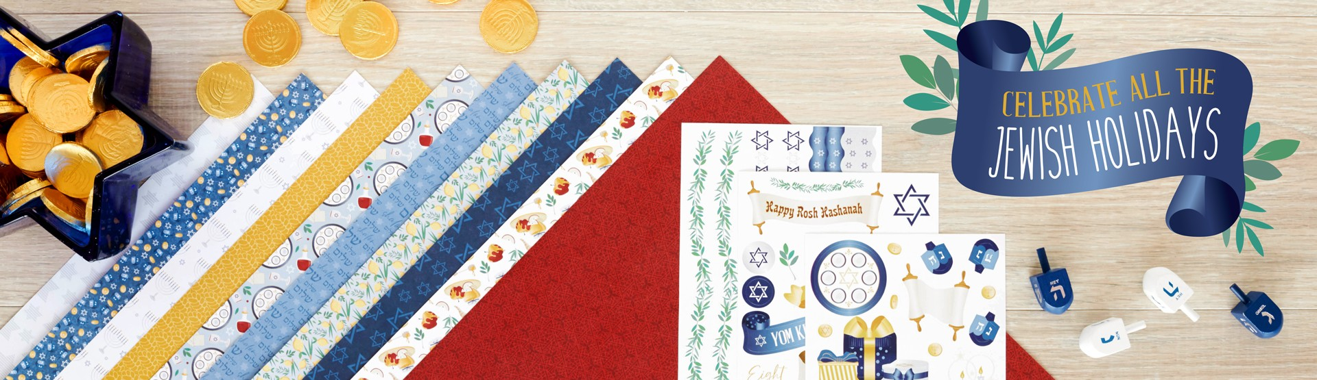 Religious Scrapbooking Supplies: Jewish Holidays