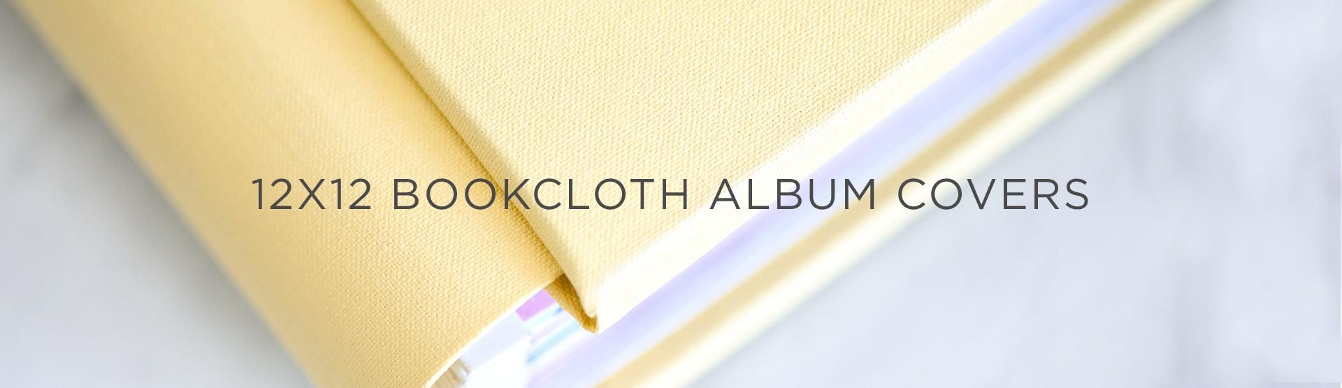 12x12 Bookcloth Album Covers