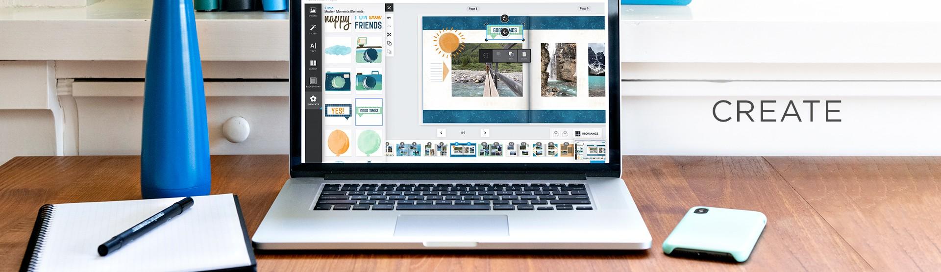 Create Digital Photo Albums