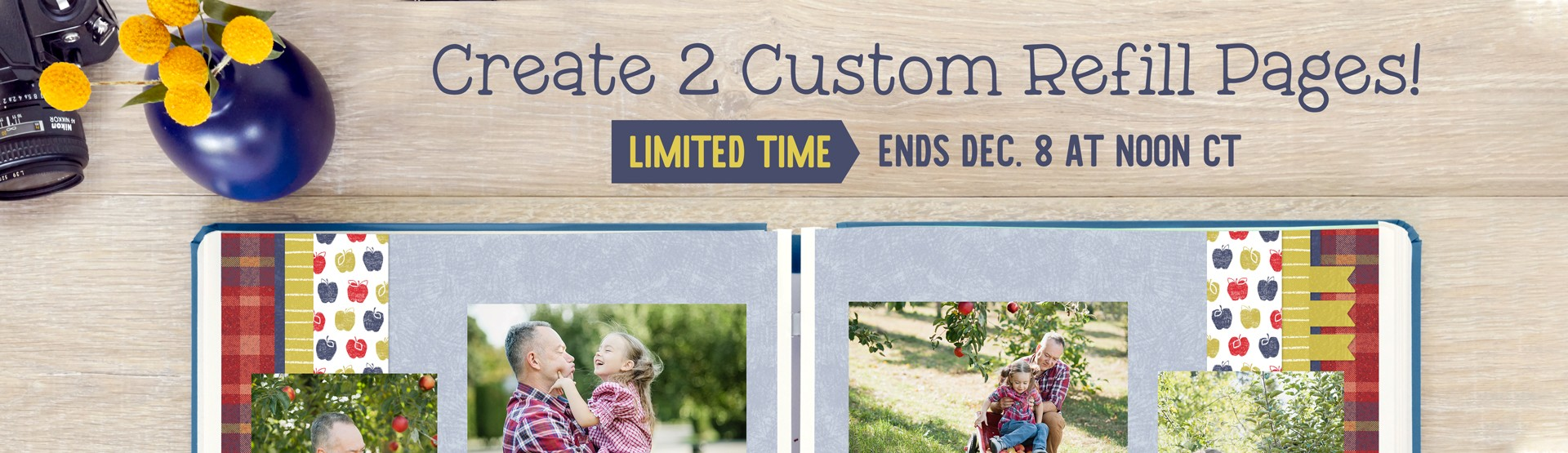 LIMITED TIME: Custom Refill Pages (2/pk)