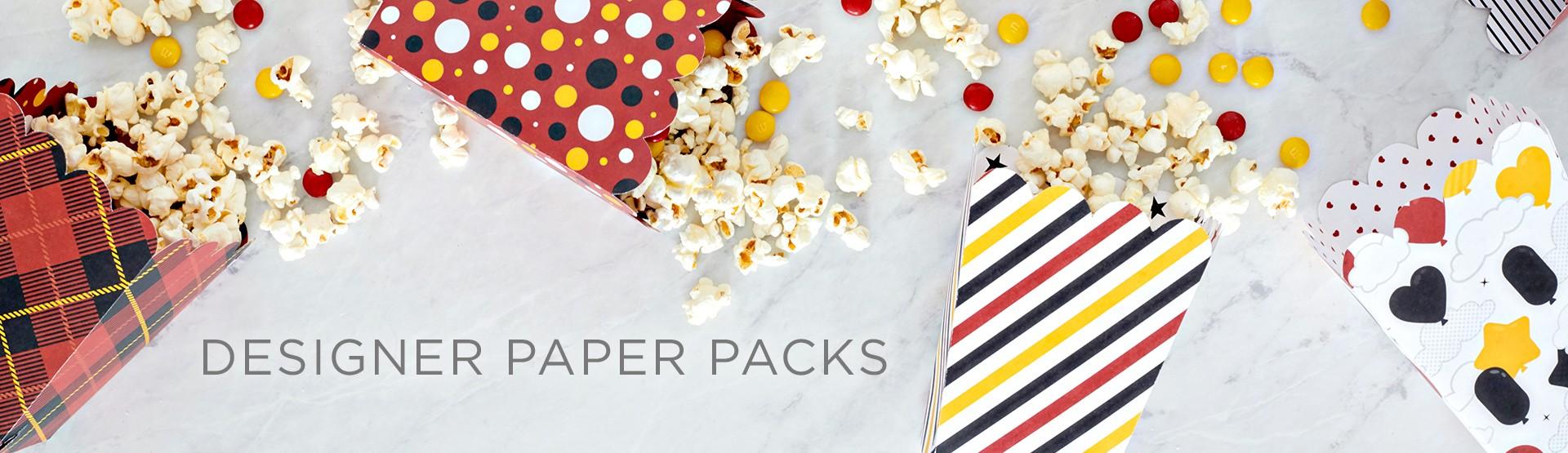 Designer Paper Packs