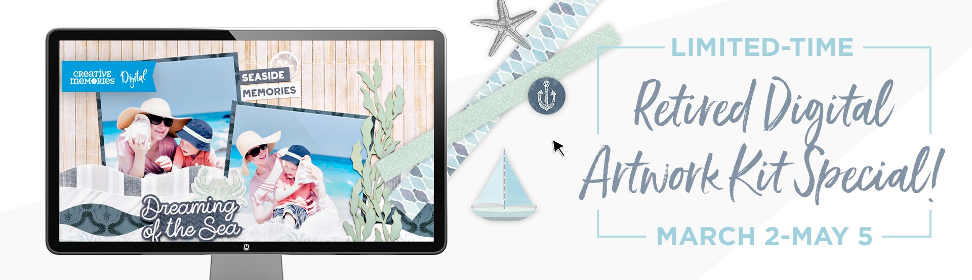 LIMITED-TIME: Retired Digital Artwork Kits Special