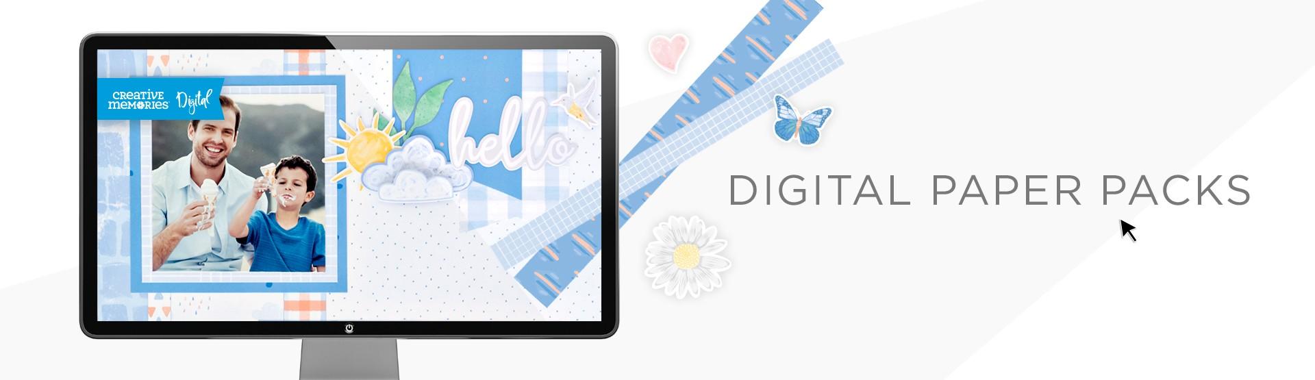 Digital Paper Packs