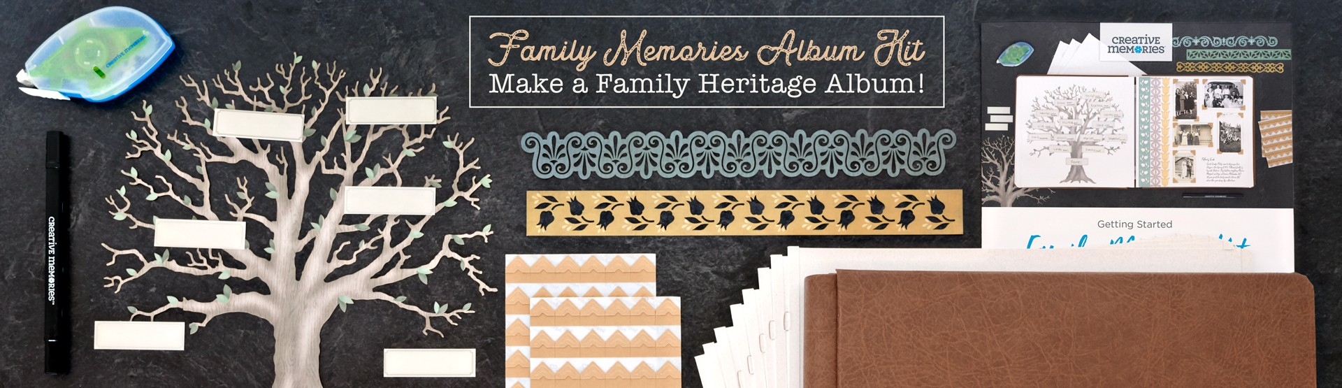 Heritage Albums: Family Memories