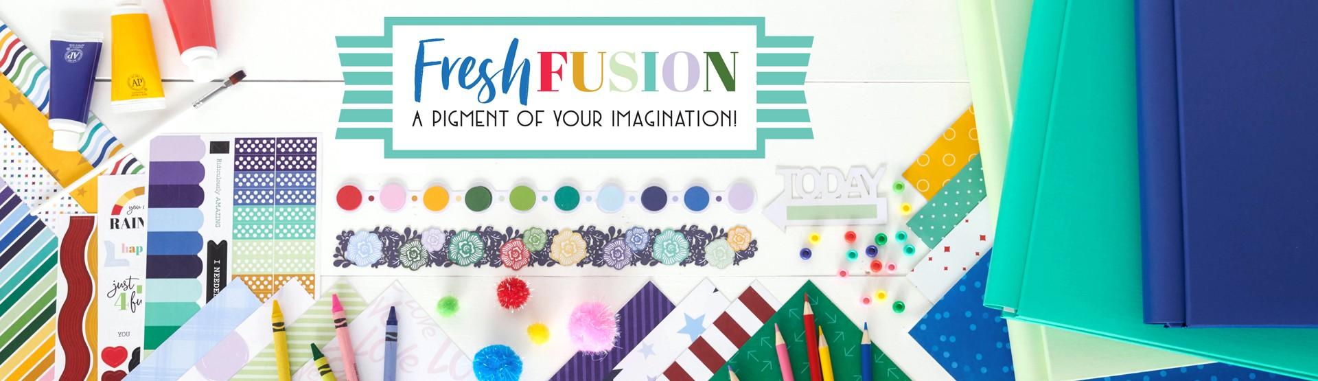 Mix & Match Scrapbook Supplies: Fresh Fusion