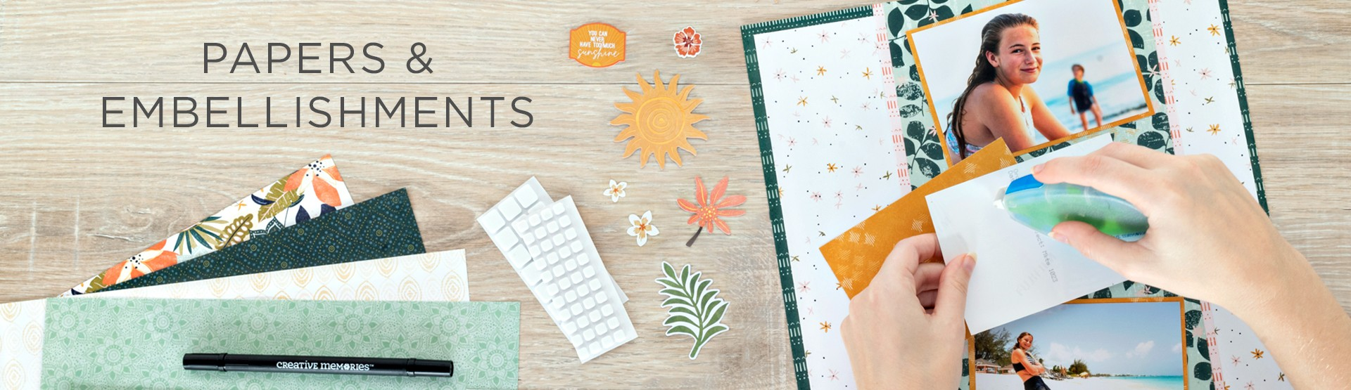Papers & Embellishments