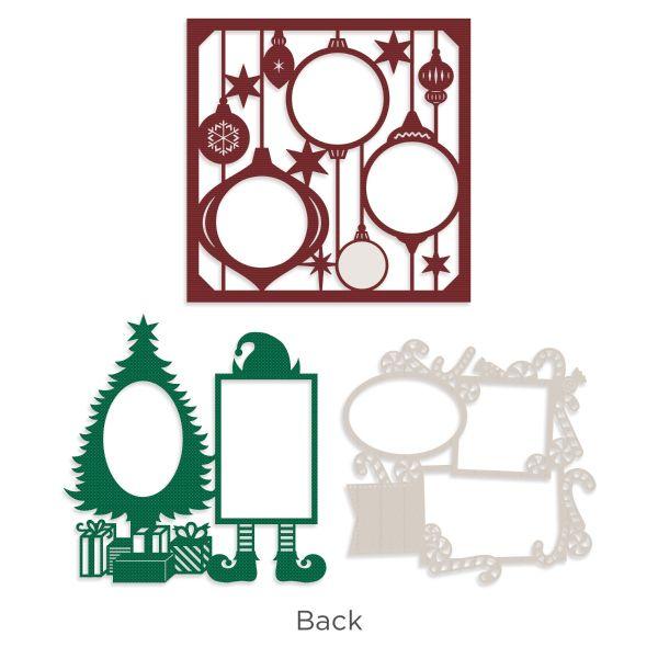 Multicolor REMBC CSP-200 Christmas Spirit Scrapbook Collection Kit Reminisce