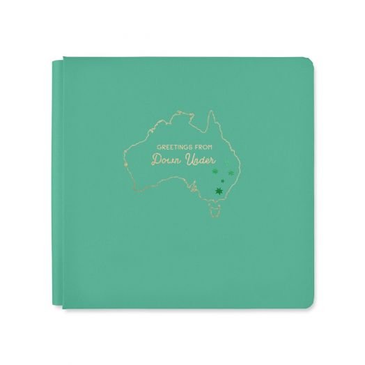12x12 Jade Aussie Adventure Album Cover - Creative Memories