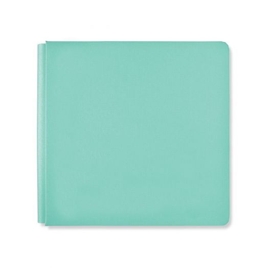 Creative Memories 12x12 Rainbow Rush Caribbean teal blue photo album cover