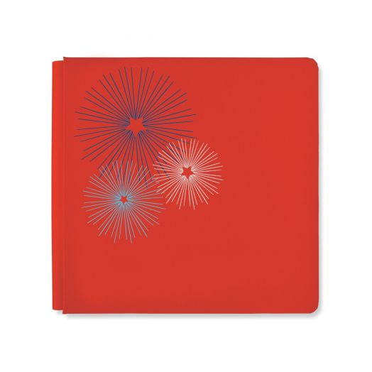 Creative Memories 12x12 Festive Fourth patriotic photo album