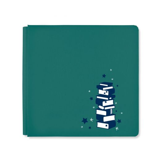 Creative Memories 12x12 books photo album cover - Book Smarts