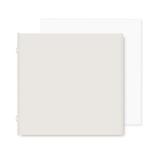 Spargo 12x12 Plain Pages and Protectors - Creative Memories