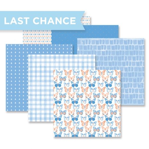 Blend & Bloom Blue Paper Pack by Creative Memories