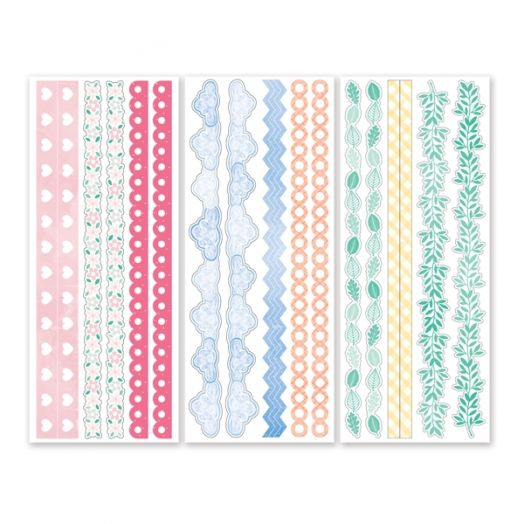 Blend & Bloom Stickers (3/pk)
