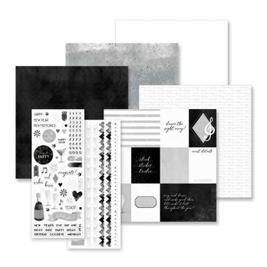 Creative Memories Cheers new year album scrapbook kit - 657323