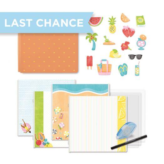 Creative Memories Citrus Summer scrapbook kit