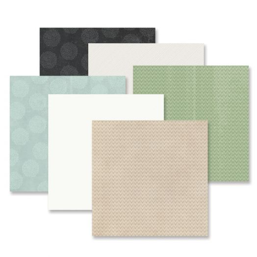 Natural Disposition Tone-on-Tone Paper Pack (12/pk)