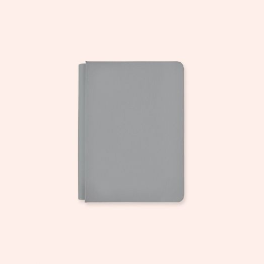 Creative Memories 6.75x10 gray album cover - Happy Album