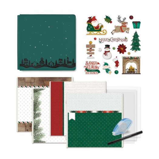 Creative Memories Christmas photo book starter kit - Christmas Spirit