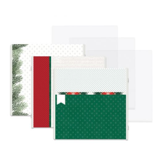 Creative Memories Christmas scrapbook pages - Christmas Spirit