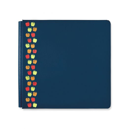 Creative Memories Croptoberfest scrapbook album cover with apples