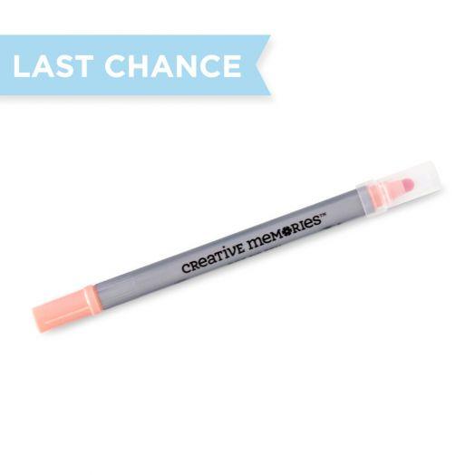 Creative Memories Island Coral pink dot pen - 657620