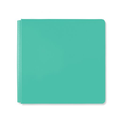 Creative Memories 12x12 teal album cover - Fresh Fusion