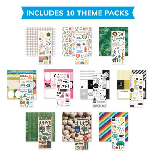 Creative Memories Theme Pack Bundle - 657892