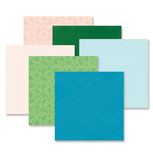 Creative Memories Vitamin Sea tonal paper