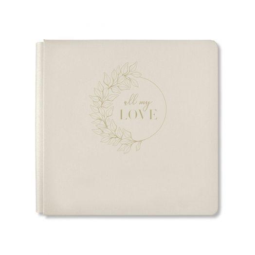 Creative Memories All My Love wedding album cover