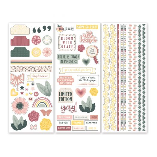 Creative Memories Winterberry Winter Stickers - 657520
