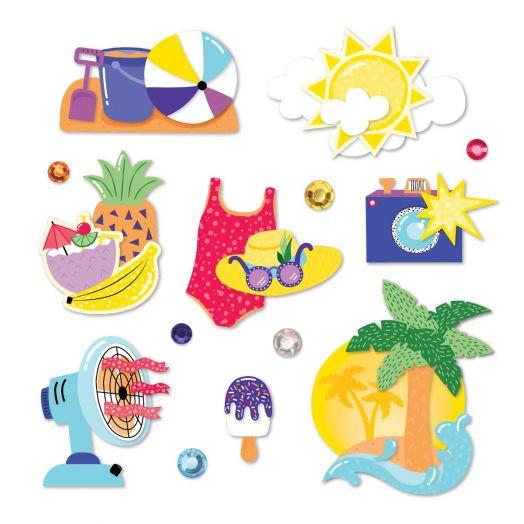 Creative Memories Electric Summer Embellishments
