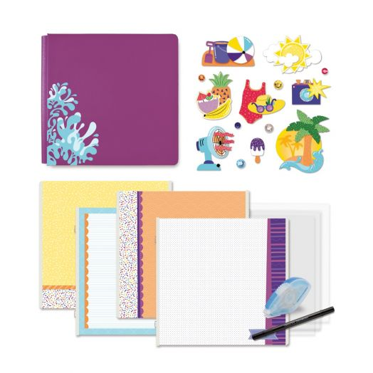 Creative Memories Electric Summer scrapbook kit