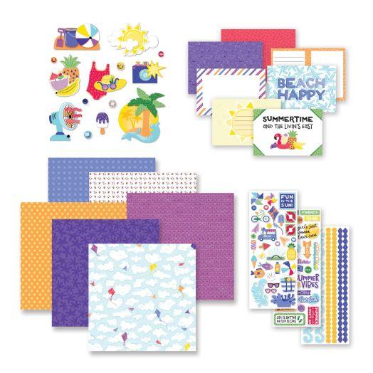 Creative Memories Electric Summer scrapbook kit