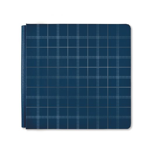 12x12 Navy Genuine Album Cover - Creative Memories