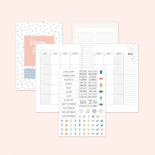 Happy Album Planner Kit