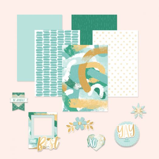 Creative Memories Happy Album scrapbook kit #18
