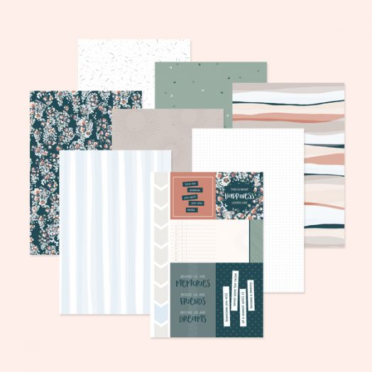 Creative Memories Scrapbook Paper - Happy Album scrapbook and travel journal paper - 657467