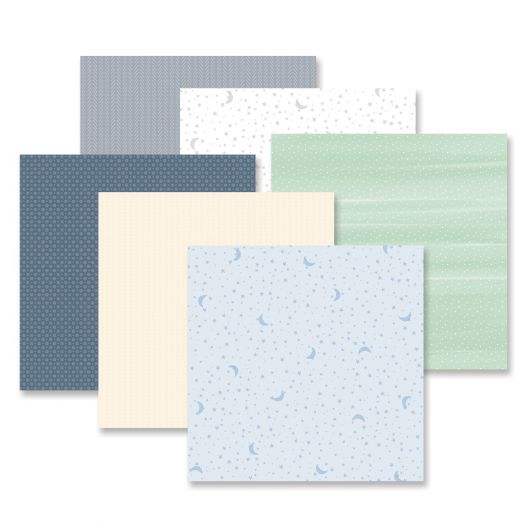 Creative Memories Little Dreamer 12x12 tonal paper for scrapbooking and crafts