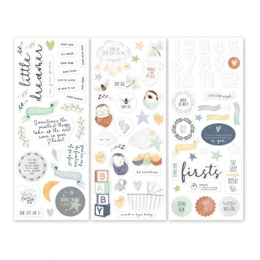 Creative Memories Little Dreamer baby stickers
