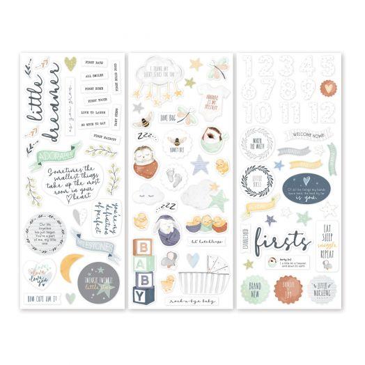 Creative Memories Little Dreamer baby stickers