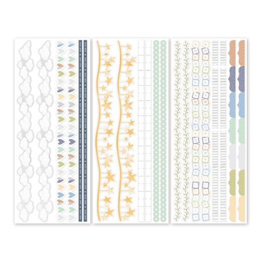 Creative Memories Little Dreamer Border Stickers - perfect for creating scrapbook borders