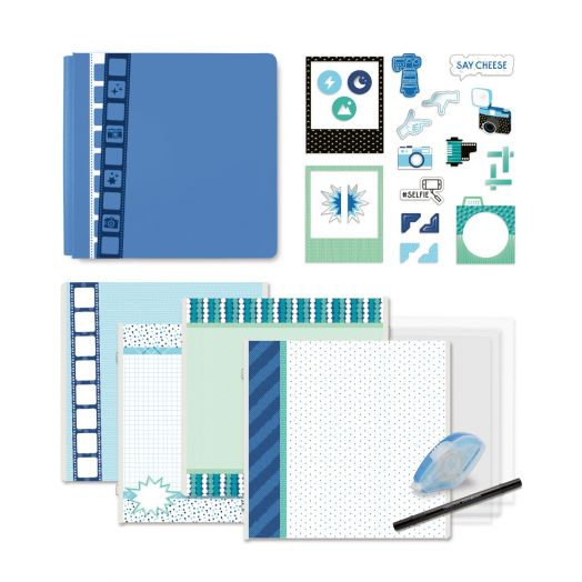 Creative Memories Picture This! Fast2Fab photo themed scrapbook album kit