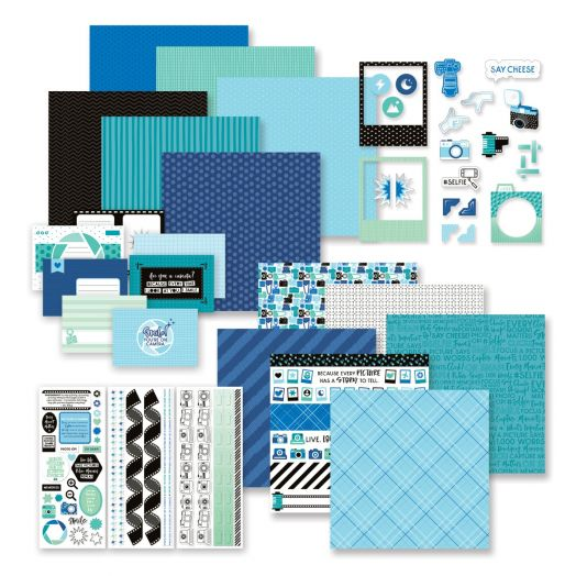 Creative Memories Picture This! photo themed scrapbook kit decorative bundle
