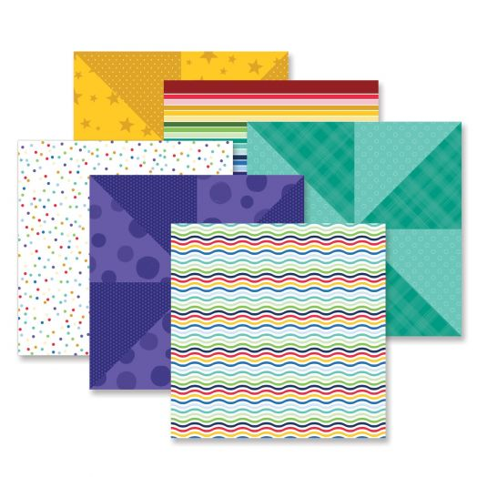 Creative Memories rainbow paper - Fresh Fusion Rainbow pack