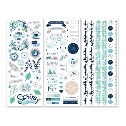 Creative Memories Spring Medley spring stickers for scrapbooking - 657757