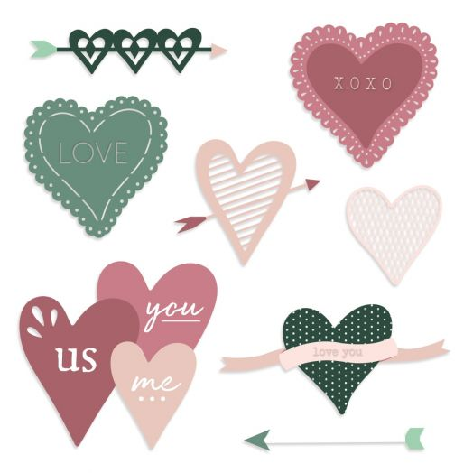 Valentines Die Cuts: Sweetheart - Creative Memories