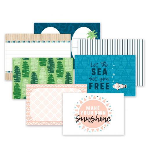 Creative Memories Vitamin Sea tropical photo mats