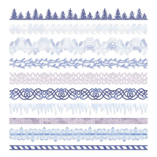 Creative Memories Winterberry Winter Border Embellishments - 657519