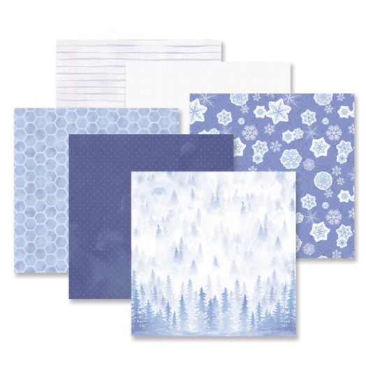 Creative Memories Winterberry Winter Scrapbook Paper - 657517